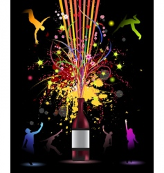 Funny party vector