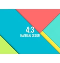 Background unusual modern material design vector