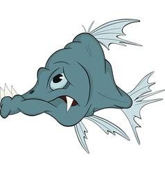 Deep-water fish vector