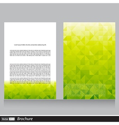 Business flyer with space for text vector