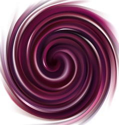 Background swirling purple liquid vector
