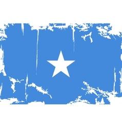 Somalia grunge flag vector