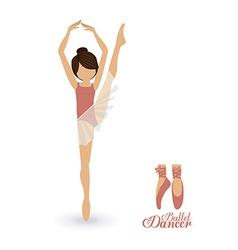 Dancer design vector