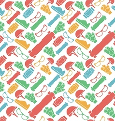 Colored background for accessories for vector