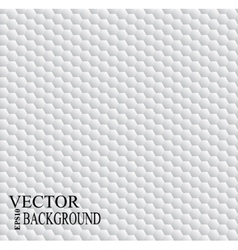 White hexagon abstract geometric seamless pattern vector