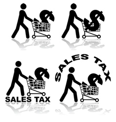 Sales tax vector