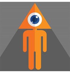 Triangleeye vector