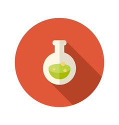 Halloween poison mixture flat icon vector