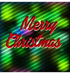 Merry christmas wool background vector