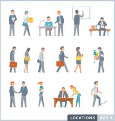 Working people vector