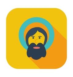 God single icon vector