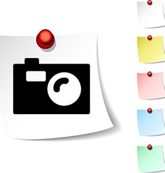 Photo icon vector