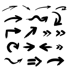 Brush stroke vector