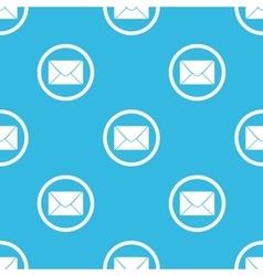 Letter sign blue pattern vector