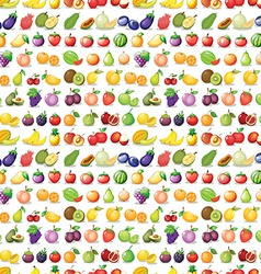 Seamless fruits vector