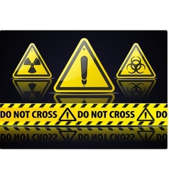 Danger sign vector