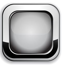 Gray button vector