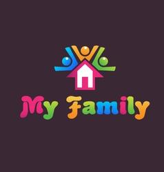 Family house vector
