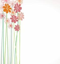 Flower color vector