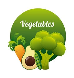 Vegetal design vector
