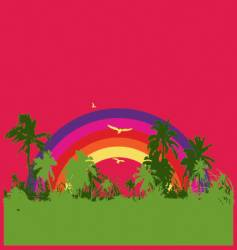 Tropical rainbow vector