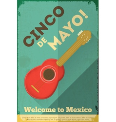 Mexican guitar vector