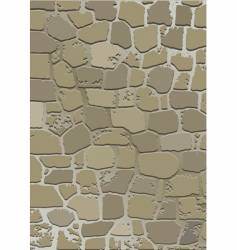 Stone wall texture vector
