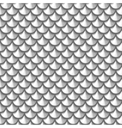 Seamless grayscale river fish scales vector