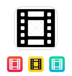 Video icon vector