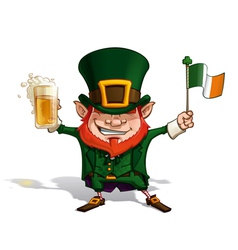 St patrick flag vector