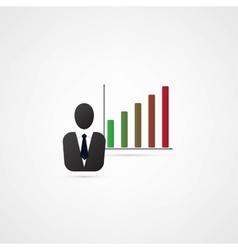 Successful businessman vector