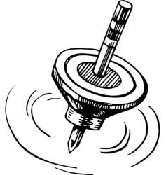 Rotating whirligig vector
