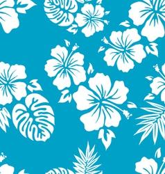 Blue aloha vector