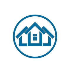 Home symbol can be used in advertising and web vector
