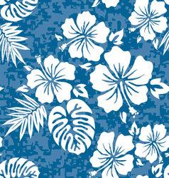 Aloha shirt vector