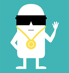 Animated personality vector