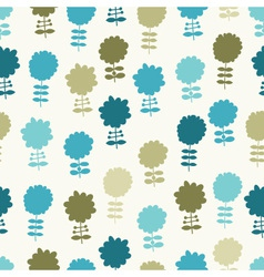 Seamless light floral background vector