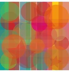 Abstract bright background transparent vector