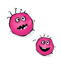 Swine flu bacteria vector
