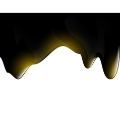 Black oil droplets vector