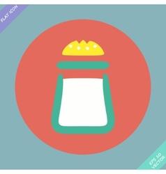 Salt icon - vector