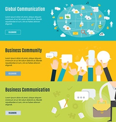 Element of business communication concept icon in vector