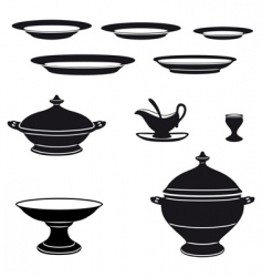 Porcelain vector