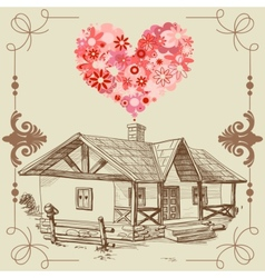 House of love vector