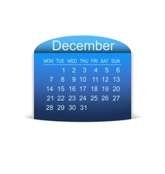 Calendar december 2015 vector