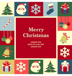 Concept christmas background vector