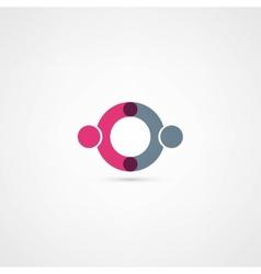 Business icon handshake vector