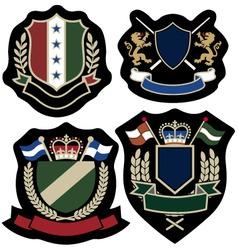 Royal badge vector
