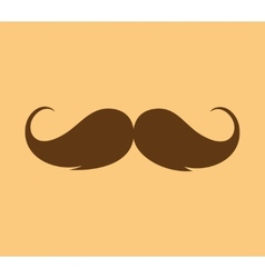 Inspirational - mustache growing vector