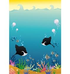 Deep sea vector